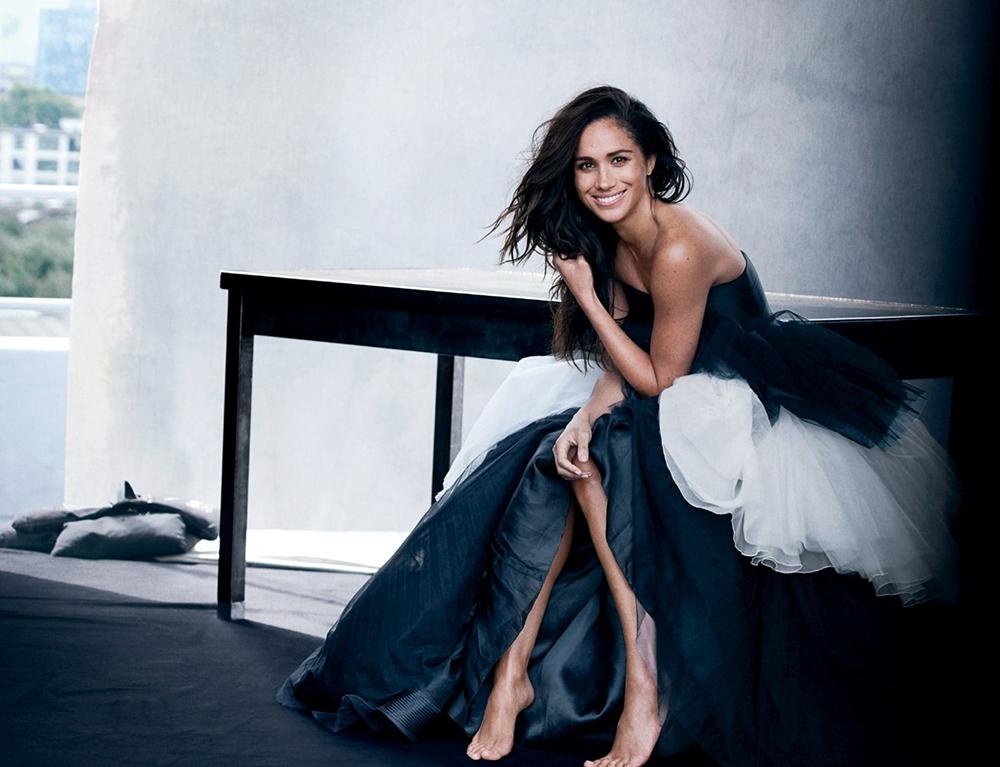 Carolina Herrera Mikado Bustier Tulle Ball Gown | Meghan Maven