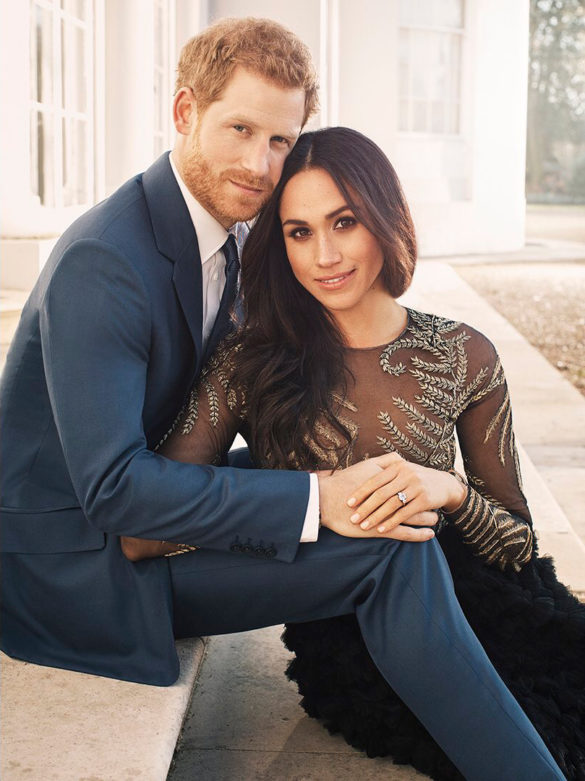 Prince Harry and Meghan Markle Official Engagement Photos from Kensington Palace December 2017