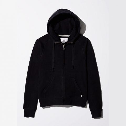 TnA Pacific Hoodie in Black as worn by Meghan Markle