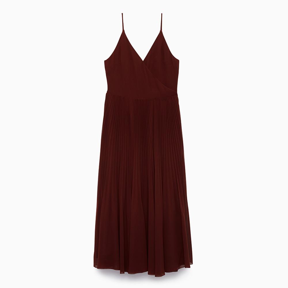 Wilfred Beaune Dress in Truffle as worn by Meghan Markle