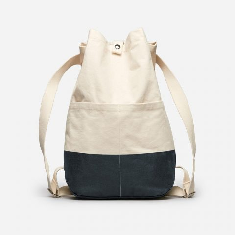 Everlane The Beach Canvas Backpack as worn by Meghan Markle