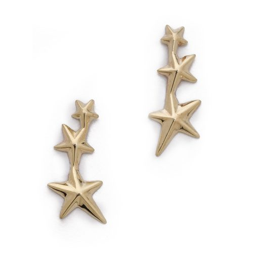 Gabriela Artigas Triple Shooting Star Earrings as worn by Meghan Markle