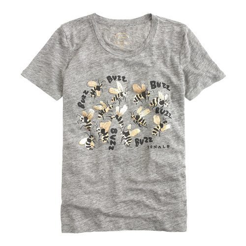 J.Crew for the Xerces Society Save the Bees T-shirt as seen on Meghan Markle