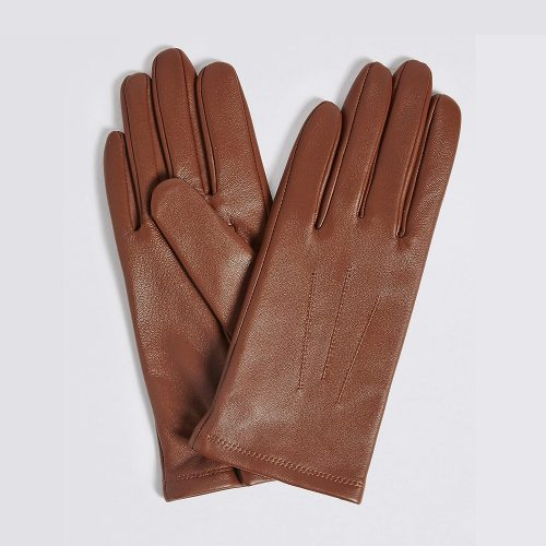 Marks and Spencer Leather Stitch Detail Gloves as worn by Meghan Markle