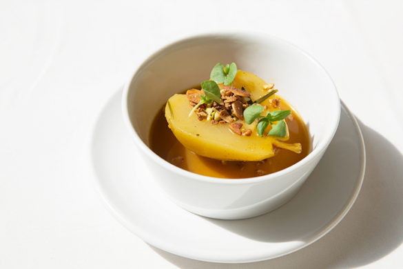 Poached Pear in Spiced Orange Juice - The Tig - Food - Best Bite