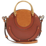 Chloé Pixie small leather and suede cross-body bag as worn by Meghan Markle