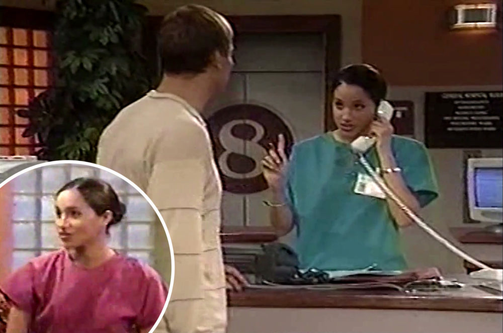 WATCH Meghan Markle in first EVER acting role as nurse Jill on General Hospital in 2001