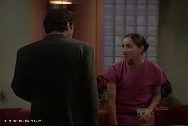 Meghan Markle plays nurse Jill on General Hospital in 2001