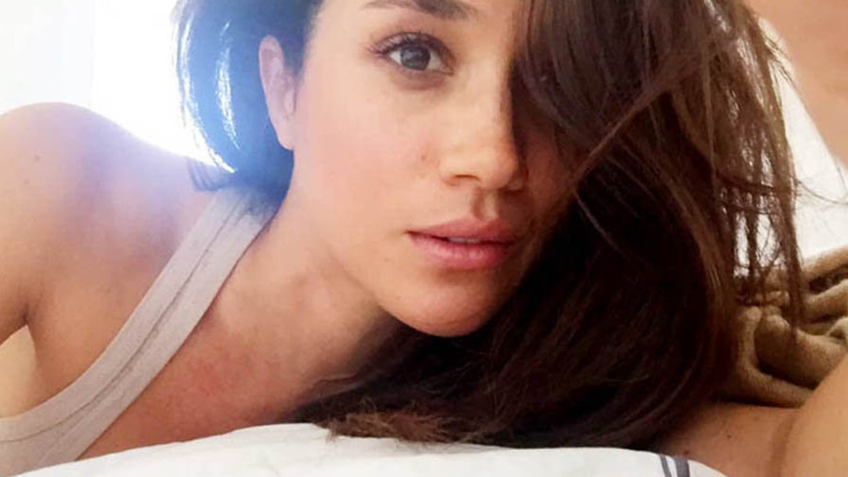 Meghan Markle profile picture on social media