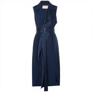 Jason Wu Belted Satin Wrap Dress