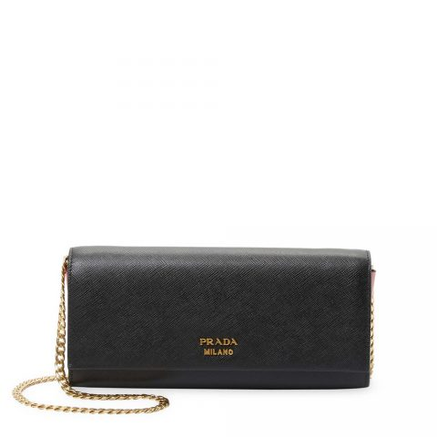 Prada Convertible Leather Clutch as worn by Meghan Markle.
