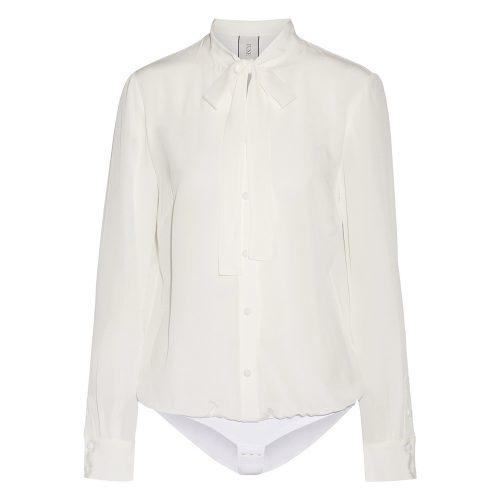 Tuxe 360° Bodywear Ivory BOSS Bodysuit Shirt as seen on Meghan Markle