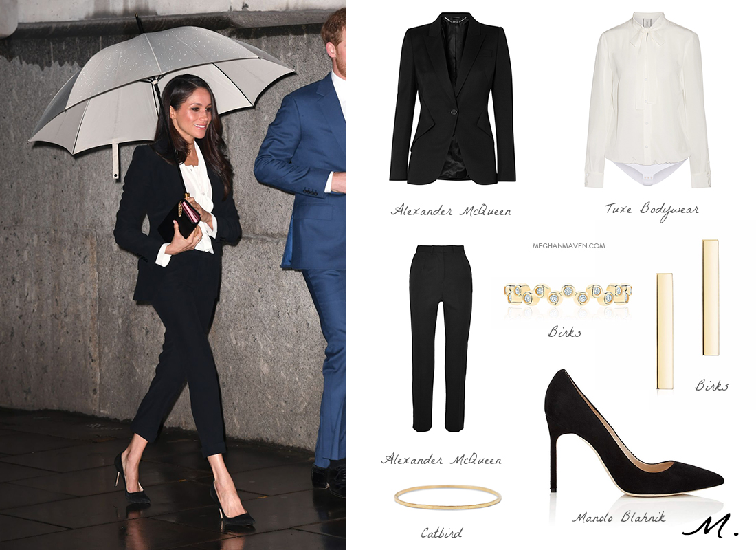 Shop the Look: Meghan Markle / Endeavour Fund Awards 2018