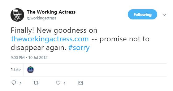 Meghan Markle The Working Actress Last Tweet