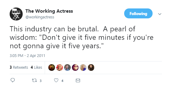 Meghan Markle aka The Working Actress Don't give it five minutes if you're not gonna give it five years