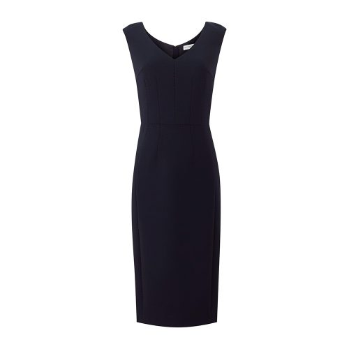 Amanda Wakeley Springsteen Midnight Tailored Midi Dress as seen on Meghan Markle