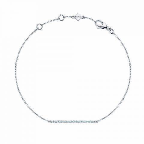 Birks Rosée Du Matin Diamond Horizontal Bar Bracelet as seen on Meghan Markle