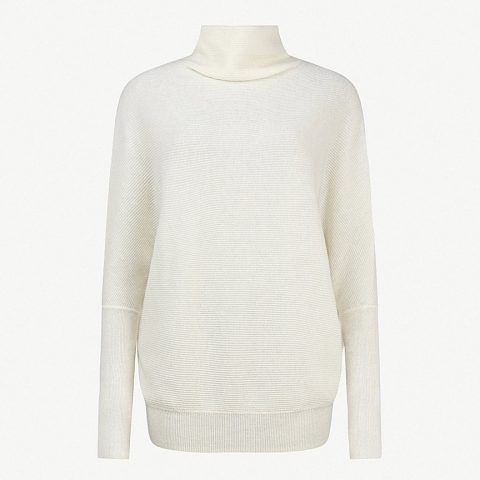 AllSaints 'Ridley' wool and cashmere ribbed texture jumper as seen on Meghan Markle