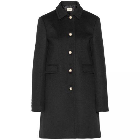 Gucci Wool Coat as seen on Meghan Markle as Rachel Zane on Suits.