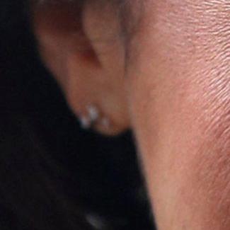 Earring detail