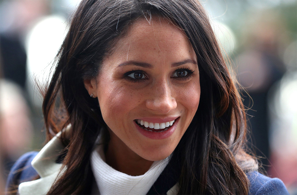 Meghan Markle Celebrating International Women S Day On March 8 2018 In Birmingham England Earring Detail