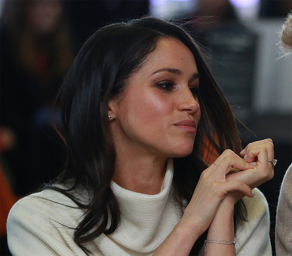 Meghan Markle celebrating International Women's Day on March 8, 2018 in Birmingham, England.