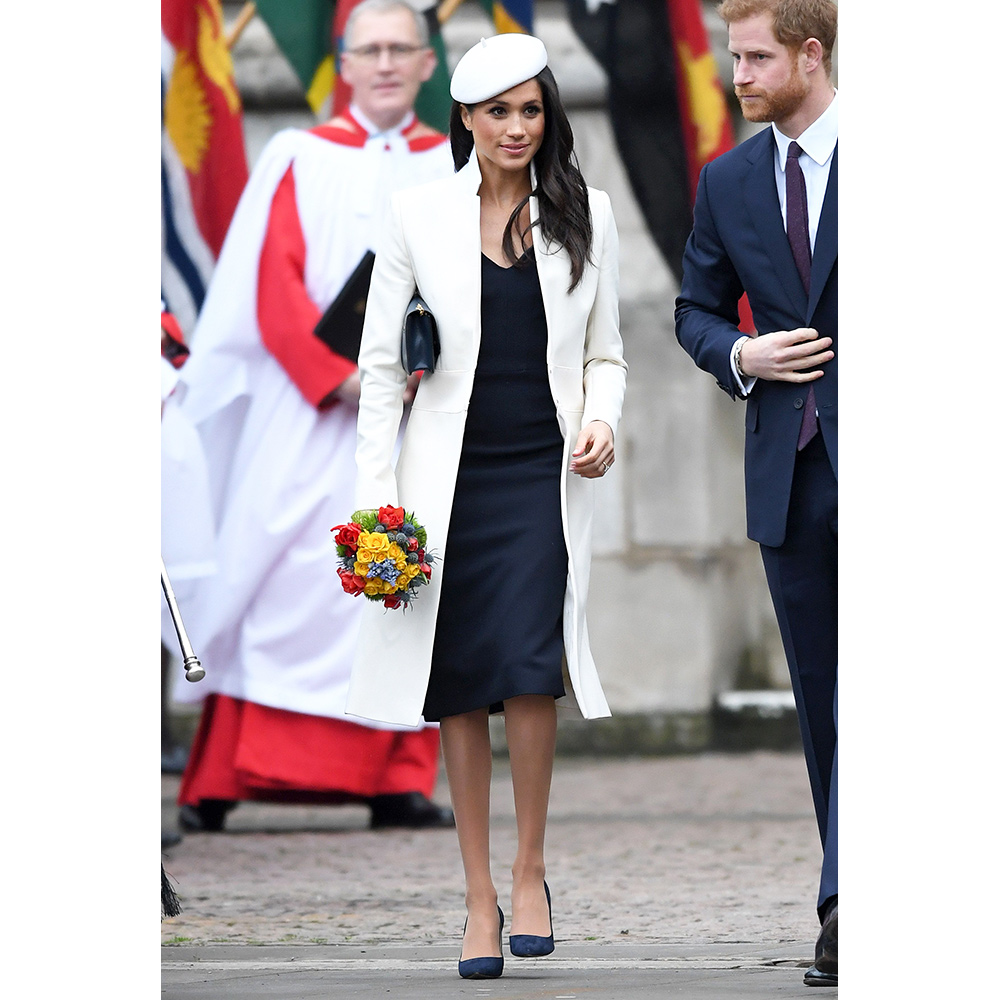 Meghan Markle attends the 2018 Commonwealth Day service at Westminster Abbey on March 12, 2018 in London, England.