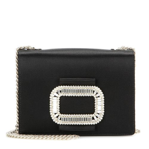 Roger Vivier Pilgrim Micro embellished evening bag as worn by Meghan Markle as Rachel Zane on Suits