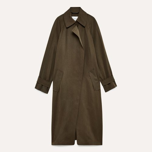 Aritzia Babaton Lawson Trench Coat in Monterey coat as seen on Meghan Markle