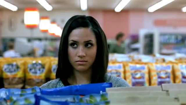 Meghan Markle in Tostitos 3 ingredients commercial 2009
