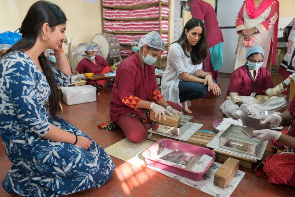 Meghan Markle, Myna Mahila Foundation