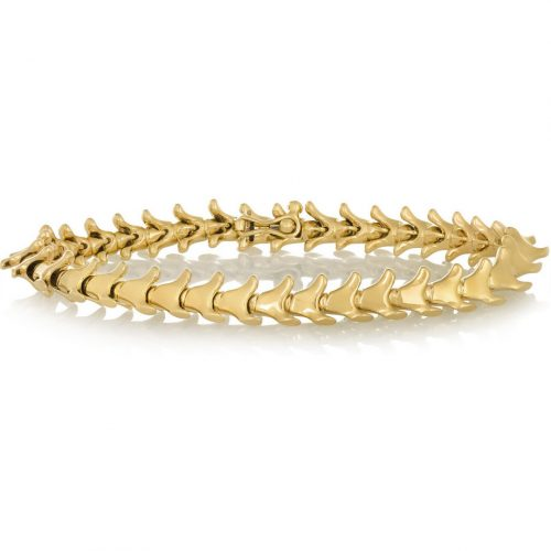 Serpent Trace 18-karat gold bracelet as seen on Meghan Markle