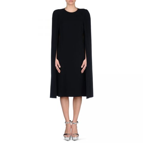 80514366eaa Stella McCartney  Stella  Cape Dress in Midnight as seen on Meghan Markle