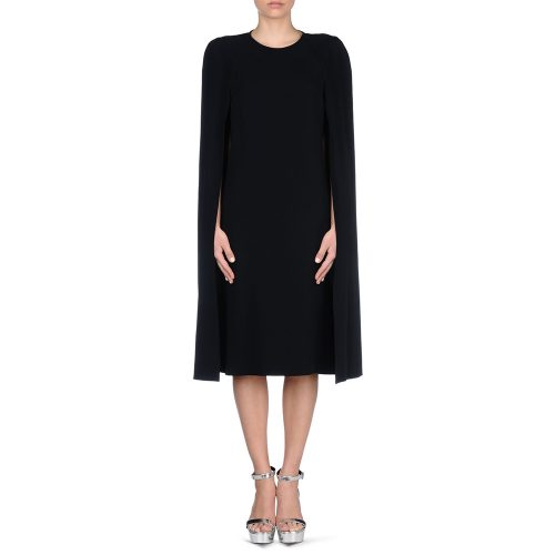Stella McCartney 'Stella' Cape Dress in Midnight as seen on Meghan Markle