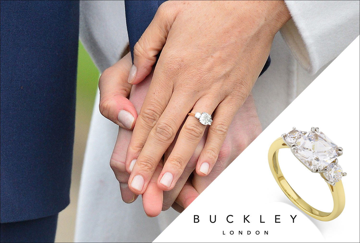 Buckley London Launch Near Identical Meghan Markle Engagement Ring Replica