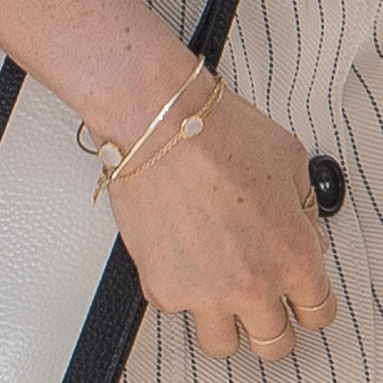 Bracelet And Ring Detail Meghan Markle At Commonwealth Heads Of Government Meeting Reception Delegates