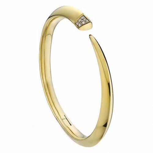 Shaun Leane Gold Diamond Cuff as seen on Meghan Markle