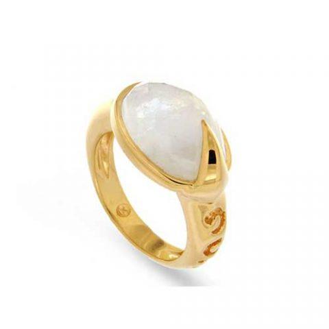 44d664e09b4b Missoma Maiya Moonstone Ring as seen on Meghan Markle