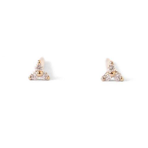 Natalie Marie Sugar Stud Earrings as seen on Meghan Markle