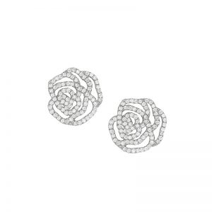 Vanessa Tugendhaft La Rose Diamond Earrings