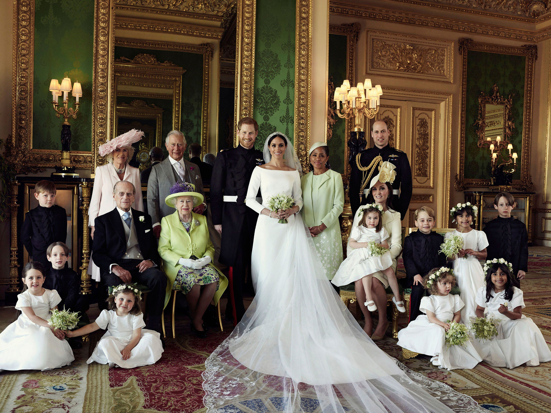 The Duke and Duchess of Sussex Official Wedding Photograph