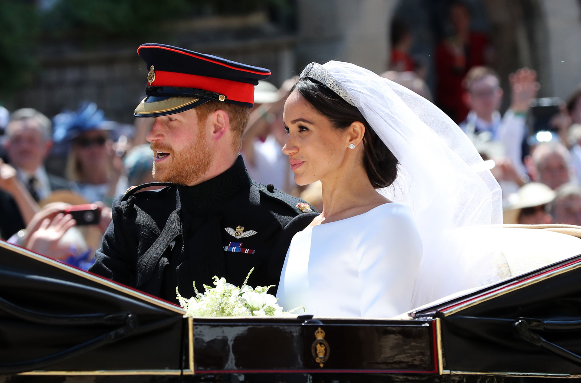 Meghan Markle and Prince Harry aka the Duke and Duchess of Sussex