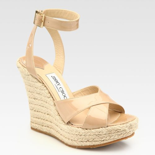 Jimmy Choo Phoenix Wedge Espadrilles as seen on Meghan Markle