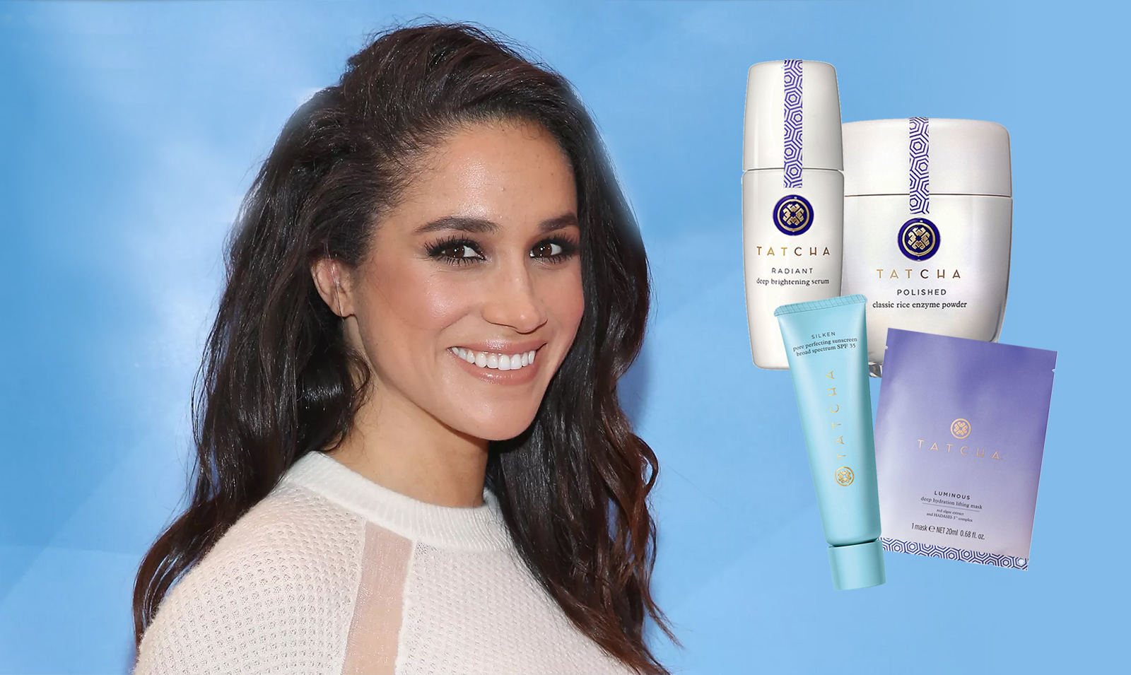 Get 15% OFF Meghan Markle's go-to skincare brand Tatcha — and help support girls' education!