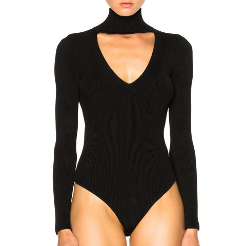 Cushnie et Ochs Turtleneck Bodysuit as seen on Meghan Markle