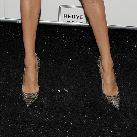 b9a54542c2c2 NEXT PREV. Christian Louboutin So Kate Python Pumps in Bronze as seen on Meghan  Markle ...