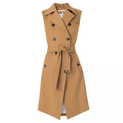 Veronica Beard SoCal Trench Vest as seen on Meghan Markle