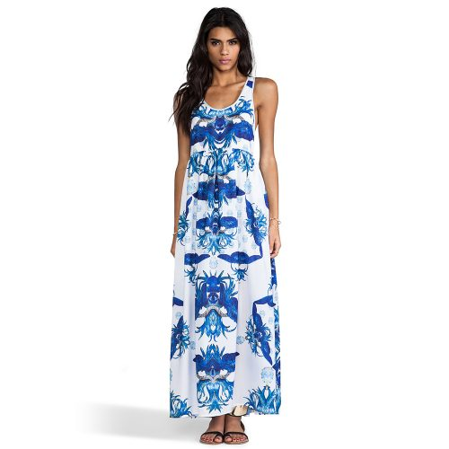 Alice McCall Orpheus Maxi Dress in Blue as seen on Meghan Markle