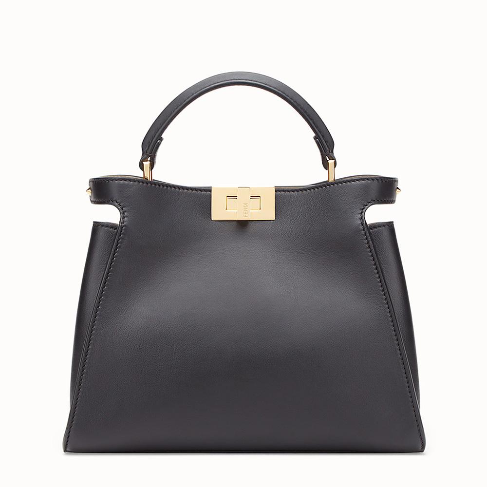 Fendi Peekaboo Essential Bag in Black as seen on Meghan 4553a6d1a4240