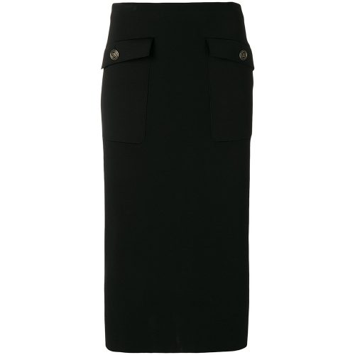 Givenchy high-waisted pencil skirt as seen on Meghan, Duchess of Sussex.